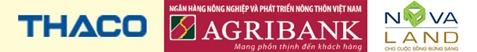 Thaco Group, Agribank, Novaland