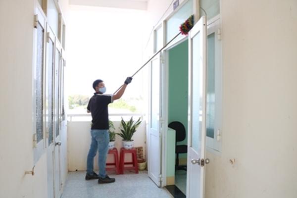 Ninh Thuận: Sử dụng ký túc xá sinh viên làm khu cách ly tập trung