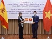 Việt Nam tặng hàng hỗ trợ các nước chống Covid-19