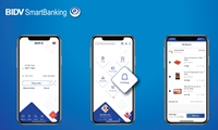 BIDV tiên phong đưa tính năng Siêu thị Vinmart Online lên ứng dụng di động