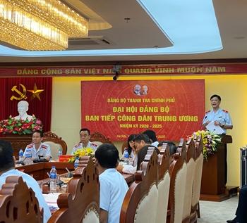 Đại hội Đảng bộ Ban Tiếp công dân TW nhiệm kỳ 2020-2025