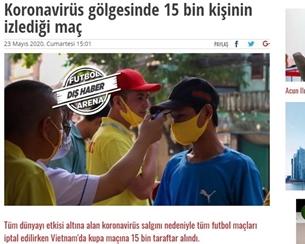 Truyền thông quốc tế nói gì trong ngày bóng đá Việt Nam trở lại