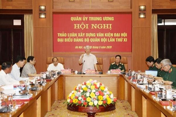 Quân ủy Trung ương cho ý kiến về Dự thảo Văn kiện Đại hội Đảng bộ Quân đội XI