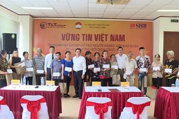 Tập đoàn T T Group hỗ trợ người dân bị ảnh hưởng bởi Covid-19 tỉnh Quảng Ninh 500 triệu đồng