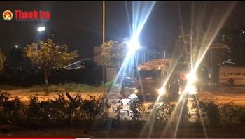 Dự án công viên và hồ điều hoà Cầu Giấy, Hà Nội: Nhiều xe có dấu hiệu chở quá tải, đổ trộm đất thải trong quá trình thi công