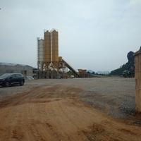 Ngang nhiên xây dựng trạm trộn bê tông không phép