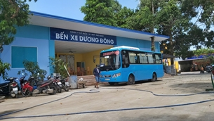 Lấn chiếm gần 3 000m2 đất, Công ty Cổ phần Xe buýt Phú Quốc bị phạt 280 triệu đồng
