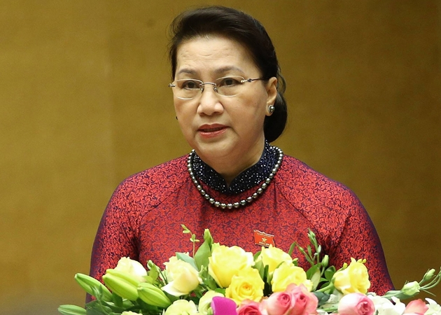 Bà Nguyễn Thị Kim Ngân được bầu làm Chủ tịch Hội đồng Bầu cử quốc gia