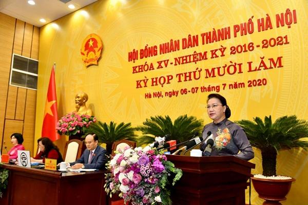 Chủ tịch Quốc hội: Hà Nội giảm số lượng, tránh chồng chéo trong thanh tra, kiểm tra