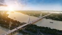 Hà Nội sắp có thêm cây cầu biểu tượng bắc qua sông Hồng