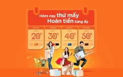 Hoàn tiền tới 50 các ngày trong tuần với thẻ quốc tế MSB