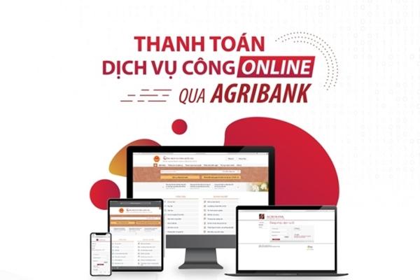 Agribank thanh toán dịch vụ công trực tuyến trên Cổng Dịch vụ công quốc gia