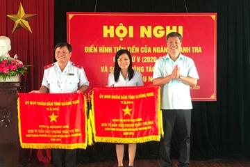 Thanh tra huyện vùng cao Nam Giang 4 lần nhận Cờ Thi đua xuất sắc