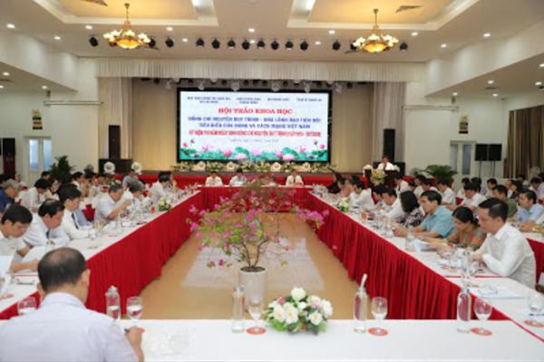 Hội thảo khoa học về đồng chí Nguyễn Duy Trinh
