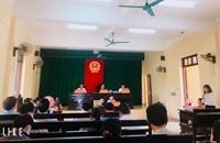 """TAND huyện Cẩm Xuyên """"tiền hậu bất nhất"""""""