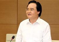Bộ trưởng Giáo dục và Đào tạo đề xuất thi tốt nghiệp THPT làm 2 đợt