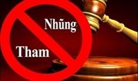 Không tuyên án treo đối với người bị kết luận có hành vi tham nhũng