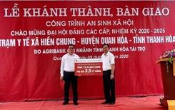 Agribank Thanh Hóa Góp phần làm thay đổi diện mạo vùng nông thôn trên địa bàn tỉnh