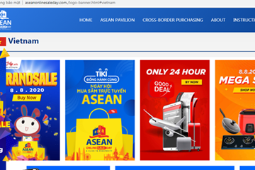 Gần 150 doanh nghiệp Việt tham gia Ngày mua sắm trực tuyến ASEAN