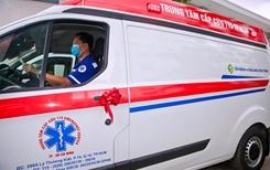 115 TP HCM tiếp nhận 2 xe cấp cứu hỗ trợ phòng chống dịch Covid 19 từ Novaland