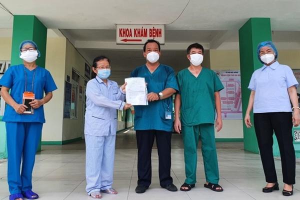 Ca mắc Covid-19 khỏi bệnh và xuất viện