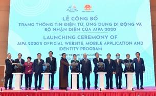 Ra mắt Trang Thông tin điện tử, Bộ Nhận diện của Năm Chủ tịch AIPA 2020
