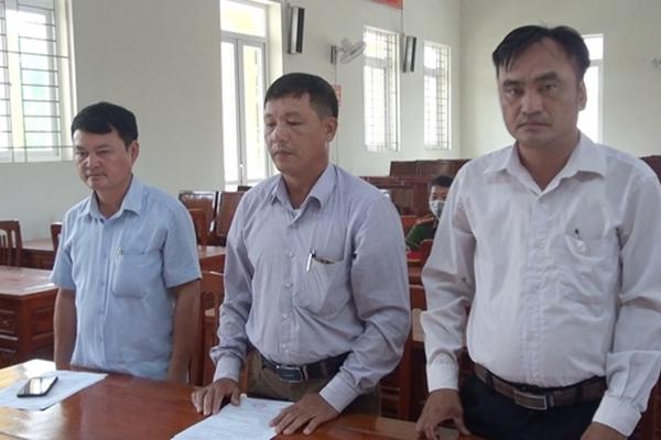Nguyên Chủ tịch UBND xã Hà Vinh cùng thuộc cấp bị khởi tố