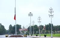 Tổ chức lễ viếng nguyên Tổng Bí thư Lê Khả Phiêu ở Trung Quốc