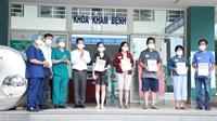 Xuất viện 5 trường hợp bệnh nhân nhiễm virus SARS-CoV-2