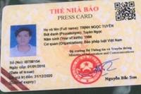 Đối tượng Trịnh Ngọc Tuyên từng về cơ sở xưng danh là nhà báo