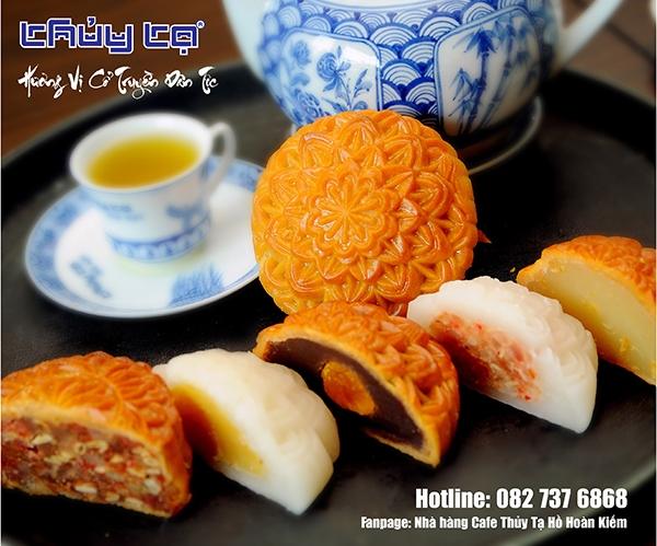 Nhà hàng cafe Thuỷ Tạ, Hồ Hoàn Kiếm