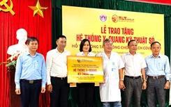 Tập đoàn T T Group trao tặng hệ thống X-quang kỹ thuật số hỗ trợ huyện Thăng Bình phòng chống COVID-19