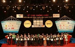 """Văn Phú - Invest được vinh danh """"Top 20 nhãn hiệu nổi tiếng Việt Nam"""""""