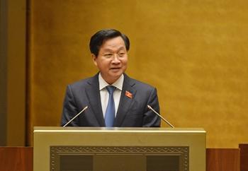 Tổng Thanh tra Lê Minh Khái báo cáo về công tác phòng, chống tham nhũng tại Quốc hội