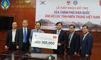 Hàn Quốc hỗ trợ 300 nghìn USD giúp người dân miền Trung khắc phục hậu quả thiên tai
