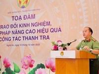 Đại tá Trần Văn Thư - Gương sáng ngành Thanh tra