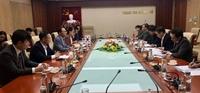 Phó Tổng Thanh tra Nguyễn Văn Thanh tiếp xã giao Đại sứ Hàn Quốc