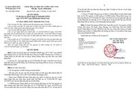 Đã thi hành xong Bản án số 75 2019HC-PC của TAND Cấp cao tại Đà Nẵng