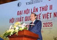 Phó Thủ tướng Trương Hòa Bình dự Đại hội Hội Luật quốc tế Việt Nam