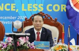 Hội nghị các Cơ quan Phòng chống tham nhũng ASEAN lần thứ 16 đã thành công tốt đẹp