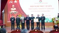 1 tập thể và nhiều cá nhân thuộc Thanh tra Chính phủ nhận Huân chương của Chủ tịch nước