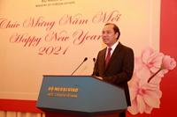 Bộ Ngoại giao gặp gỡ báo chí quốc tế nhân dịp năm mới 2021