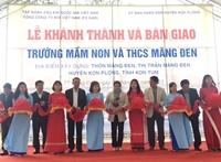 PV GAS tài trợ 12 tỷ đồng xây dựng trường học Kon Tum