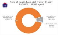 Chiều 21 1 Việt Nam có thêm 2 ca mắc COVID-19