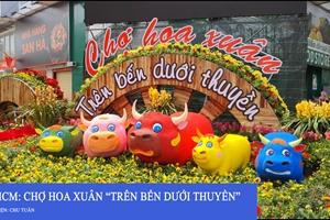 TP HCM: Chợ hoa Xuân