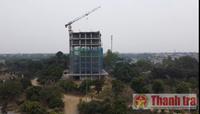 Đề nghị xử lý dứt điểm vi phạm quy mô lớn tại thị xã Sơn Tây