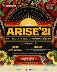 Arise'21 - Ta sẽ hồi sinh  những thông điệp truyền cảm hứng về thế hệ S-Generation
