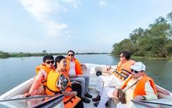 Du ngoạn sông Sài Gòn, trải nghiệm biệt thự mẫu đảo Phượng Hoàng