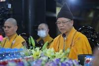 Hàng chục ngàn Phật tử theo dõi đại lễ cầu an trực tuyến tại tổ đình Phúc Khánh
