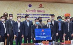 """Vingroup tài trợ 20 tỷ đồng thử nghiệm lâm sàng vắc xin phòng ngừa COVID-19 """"Made in Việt Nam"""""""